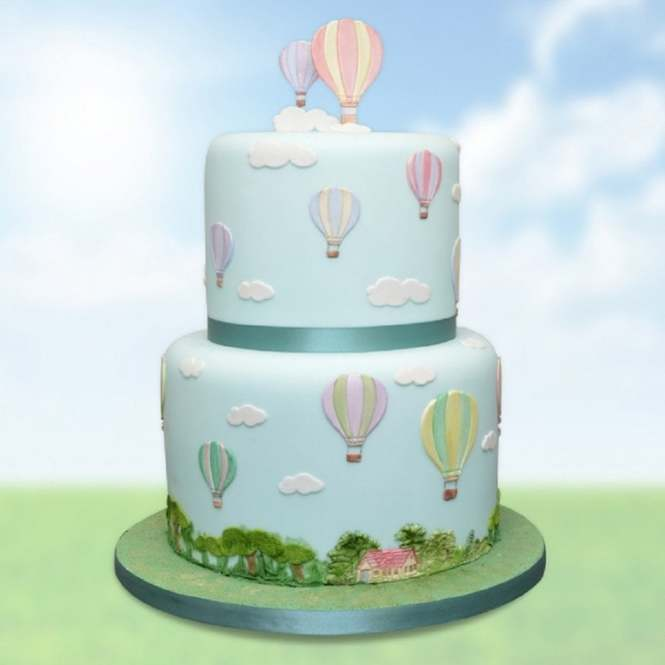Balloon//Number Theme Silicone Fondant Molds Sugar Paste Cake Decorating
