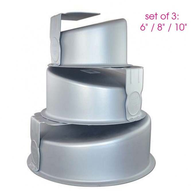Superb Pme Set All 3 Topsy Turvy Novelty Wonky Cake Tins From Only 28 01 Personalised Birthday Cards Cominlily Jamesorg