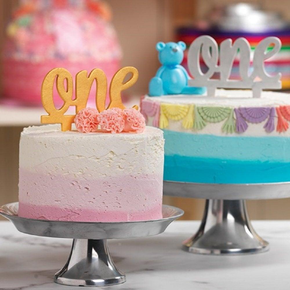 Culpitt TWENTY ONE white gumpaste cake topper decoration ...