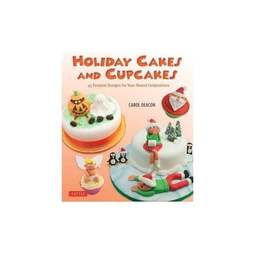 View the **CLEARANCE** Holiday Cakes And Cupcakes - Carol Deacon online at Cake Stuff