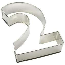View the number 2 professional cake frame / tin online at Cake Stuff