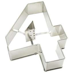 View the number 4 professional cake frame / tin online at Cake Stuff