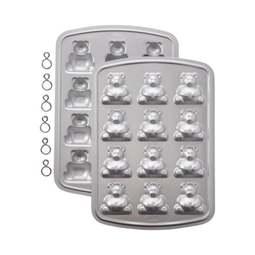 View the 12 Mini Bear cake pop tin / pan / mould set online at Cake Stuff