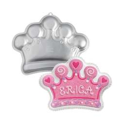 View the Crown Tiara Princess novelty cake tin / pan online at Cake Stuff