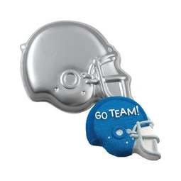 View the Helmet American Football novelty cake tin / pan online at Cake Stuff