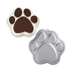 View the Paw Print novelty animal cake tin / pan online at Cake Stuff