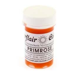 View the PRIMROSE YELLOW Tartranil paste gel icing / food colouring 25g online at Cake Stuff