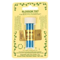 View the ICE BLUE Blossom Tint icing dusting colour 7ml online at Cake Stuff