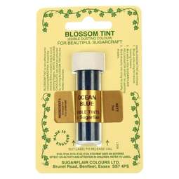 View the OCEAN BLUE Blossom Tint icing dusting colour 7ml online at Cake Stuff