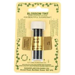 View the NAVY BLUE Blossom Tint icing dusting colour 7ml online at Cake Stuff