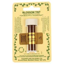 View the BROWN Blossom Tint icing dusting colour 7ml online at Cake Stuff