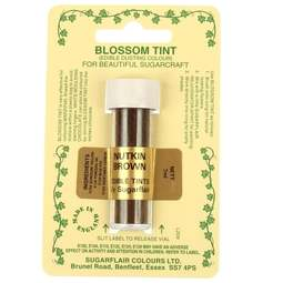 View the NUTKIN BROWN Blossom Tint icing dusting colour 7ml online at Cake Stuff