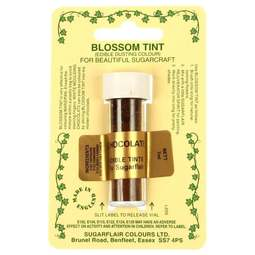 View the CHOCOLATE BROWN Blossom Tint icing dusting colour 7ml online at Cake Stuff