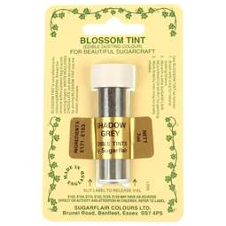 View the SHADOW GREY Blossom Tint icing dusting colour 7ml online at Cake Stuff