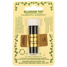 View the BLACK Blossom Tint icing dusting colour 7ml online at Cake Stuff