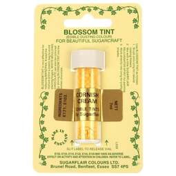View the CORNISH CREAM Blossom Tint icing dusting colour 7ml online at Cake Stuff
