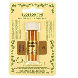 View the AUTUMN GOLD Blossom Tint icing dusting colour 7ml online at Cake Stuff