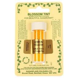 View the LEMON YELLOW Blossom Tint icing dusting colour 7ml online at Cake Stuff