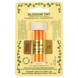 View the EGG YELLOW Blossom Tint icing dusting colour 7ml online at Cake Stuff
