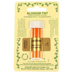 View the TANGERINE orange Blossom Tint icing dusting colour 7ml online at Cake Stuff
