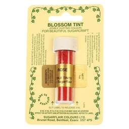 View the ROSE pink / red Blossom Tint icing dusting colour 7ml online at Cake Stuff
