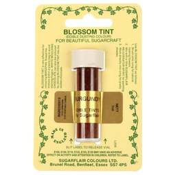 View the BURGUNDY WINE Blossom Tint icing dusting colour 7ml online at Cake Stuff