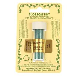 View the EUCALYPTUS Green Blossom Tint icing dusting colour 7ml online at Cake Stuff