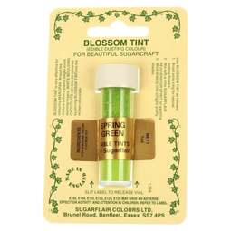 View the SPRING GREEN Blossom Tint icing dusting colour 7ml online at Cake Stuff