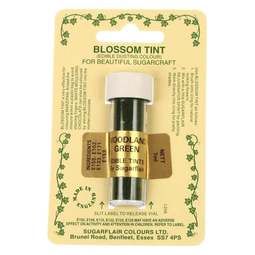 View the WOODLAND GREEN Blossom Tint icing dusting colour 7ml online at Cake Stuff