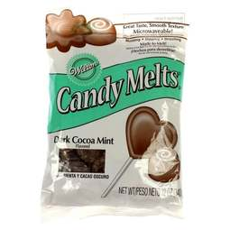 View the Mint Chocolate Cocoa Mint Candy Melts 340g online at Cake Stuff
