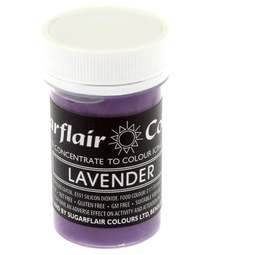 View the LAVENDER Pastel paste gel icing / food colouring 25g online at Cake Stuff