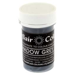 View the SHADOW GREY Pastel paste gel icing / food colouring 25g online at Cake Stuff