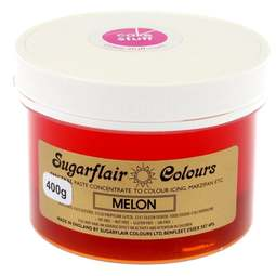 View the MELON YELLOW Spectral icing paste colouring BULK 400g online at Cake Stuff