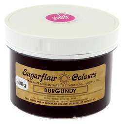 View the BURGUNDY Spectral icing paste colouring BULK 400g online at Cake Stuff