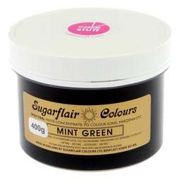 View the MINT GREEN Spectral icing paste colouring BULK 400g online at Cake Stuff