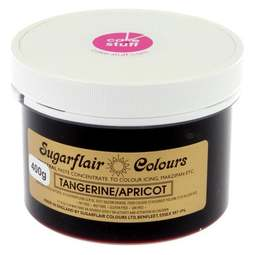 View the TANGERINE / APRICOT (ORANGE) Spectral icing paste colouring BULK 400g online at Cake Stuff