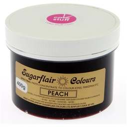 View the PEACH Spectral icing paste colouring BULK 400g online at Cake Stuff