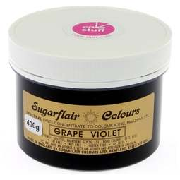 View the GRAPE VIOLET Spectral icing paste colouring BULK 400g online at Cake Stuff