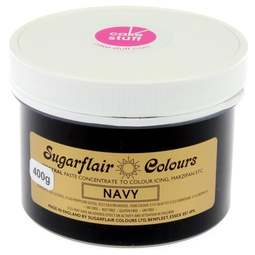 View the NAVY BLUE Spectral icing paste colouring BULK 400g online at Cake Stuff