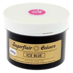 View the ICE BLUE Spectral icing paste colouring BULK 400g online at Cake Stuff