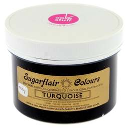 View the TURQUOISE Spectral icing paste colouring BULK 400g online at Cake Stuff