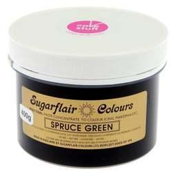View the SPRUCE GREEN Spectral icing paste colouring BULK 400g online at Cake Stuff