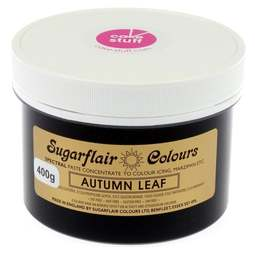 View the AUTUMN LEAF Spectral icing paste colouring BULK 400g online at Cake Stuff