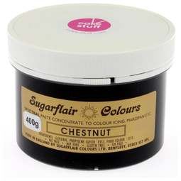 View the CHESTNUT BROWN Spectral icing paste colouring BULK 400g online at Cake Stuff