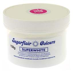 View the 150g SUPERWHITE icing whitener colouring trade pack online at Cake Stuff