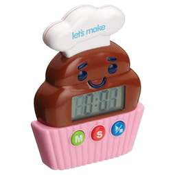 View the Little Cooks Cupcake digital baking timer online at Cake Stuff