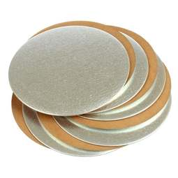 "View the 6"" round (10 pack) cut edge cake cards online at Cake Stuff"