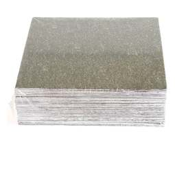 """View the 3"""" (25 pack) square single thick cake cards online at Cake Stuff"""