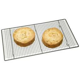 "View the large 18"" x 10"" non-stick cooling tray / rack online at Cake Stuff"