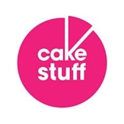 """View the 5"""" square double thick cake card online at Cake Stuff"""